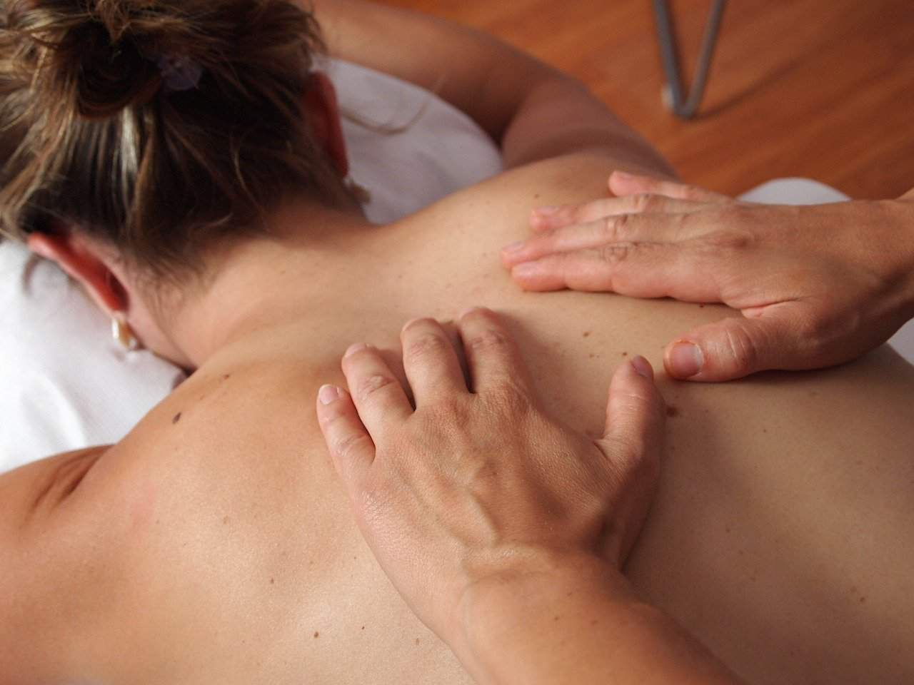 massage and craniosacral therapy